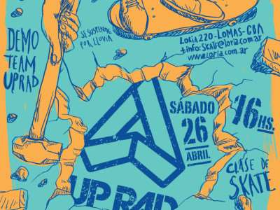 Up Rad Demoledor tour en Loria.