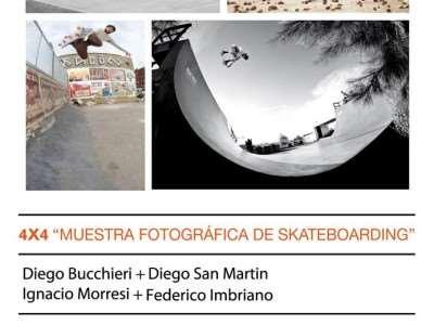 4X4 Muestra Fotográfica De Skateboarding