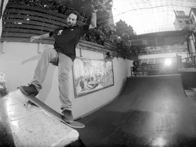 Loria Skate Shop 2016 – Juano Wallace/Quique Rosso – Blanco & Negro