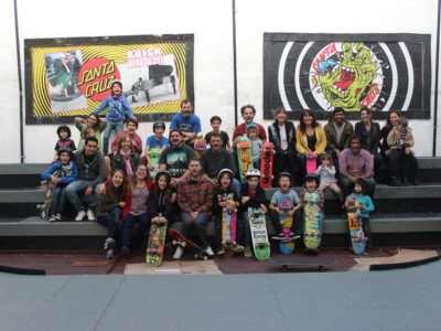 Clase especial dia del padre con Juano Wallace en Loria Skate Shop
