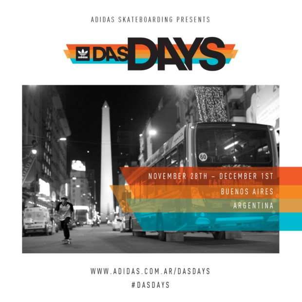 Adidas Skateboarding /// Das Days Buenos Aires